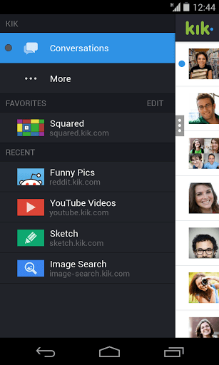 Скачать Kik Messenger для Андроид