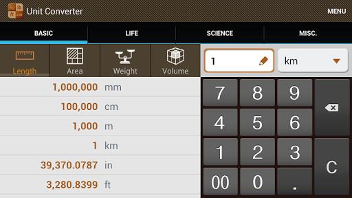 Скачать Конвертер Единиц для Андроид