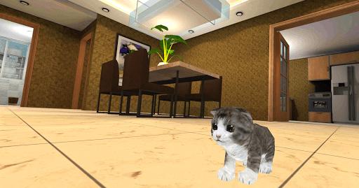 Скачать Котенок Кошка Симулятор 3D для Андроид