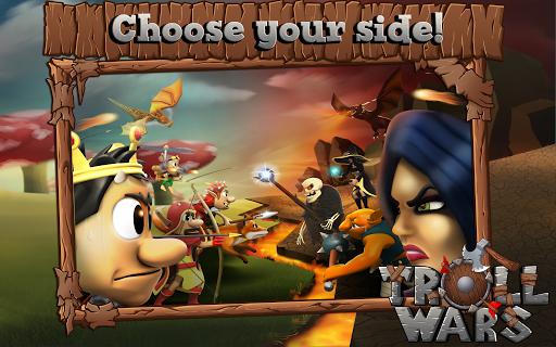 Скачать Кузя — Troll Wars для Андроид