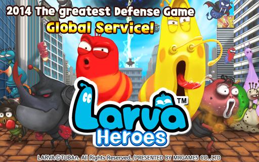 Скачать Larva Heroes: Lavengers 2014 для Андроид