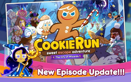 Скачать LINE Cookie Run для Андроид
