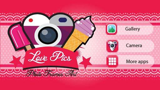 Любовь Фото — Искусство Рамки для Андроид