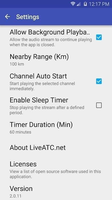 Скачать LiveATC for Android для Андроид