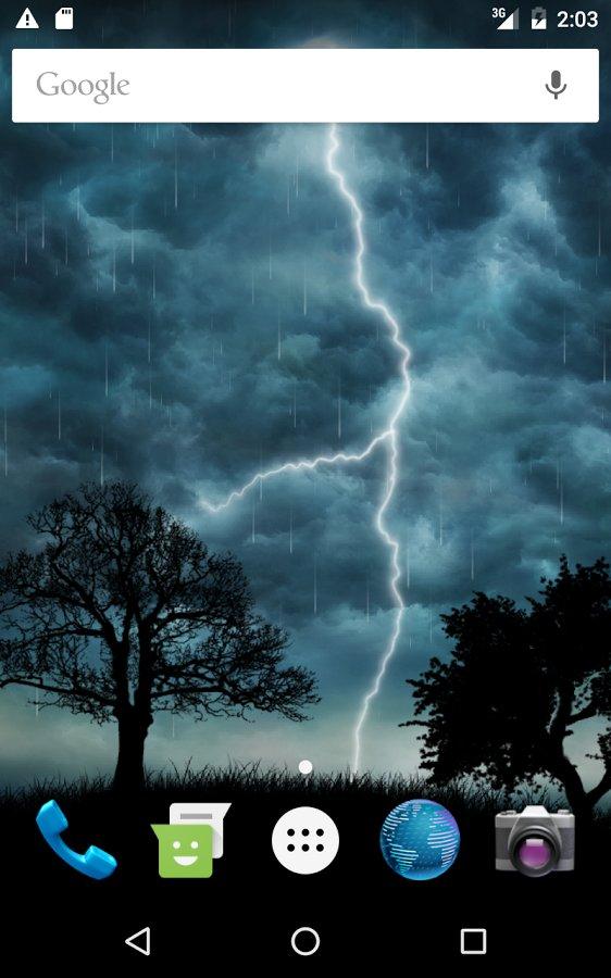 Скачать Live Storm Pro Wallpaper для Андроид