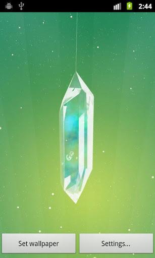 Скачать Lucky Crystal Live Wallpaper для Андроид