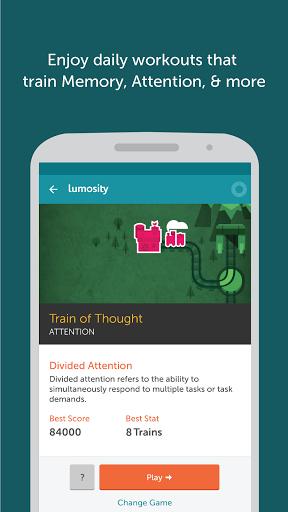 Скачать Lumosity для Андроид