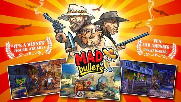 Скачать Mad Bullets для Андроид