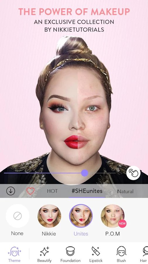Скачать MakeupPlus — Makeup Camera для Андроид