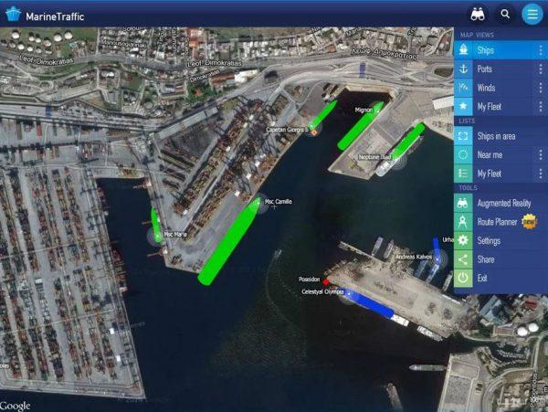 Скачать MarineTraffic для Андроид
