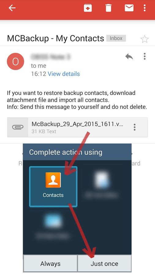Скачать McBackup для Андроид