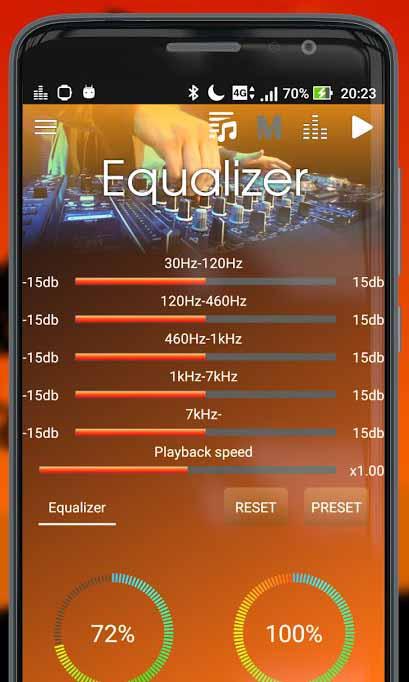 Скачать Megamix Player для Андроид