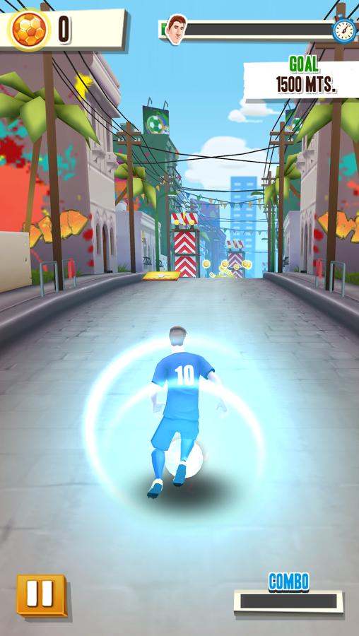 Скачать Messi runner для Андроид