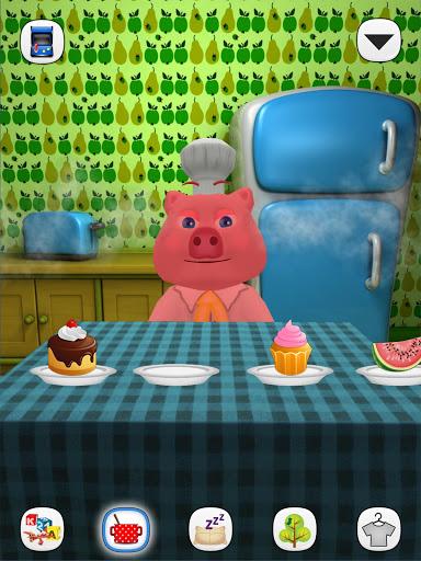 Скачать Моя Говорящая Свинка Игры для Андроид