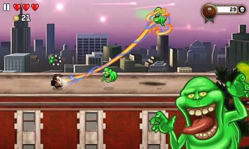 Скачать Monster Dash для Андроид