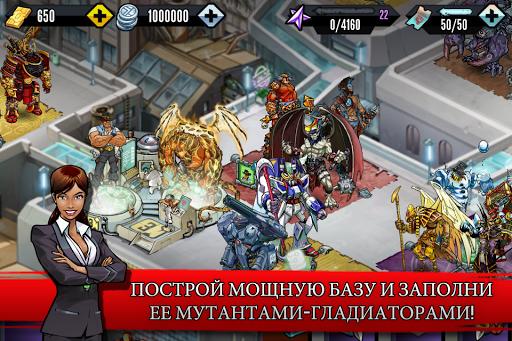 Скачать Mutants: Genetic Gladiators для Андроид
