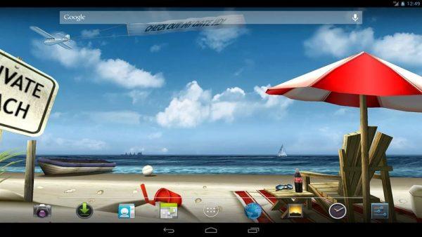Скачать My Beach HD для Андроид