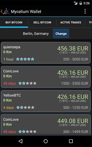 Скачать Mycelium Bitcoin Wallet для Андроид
