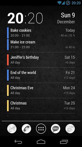 Скачать Neat Calendar Widget для Андроид