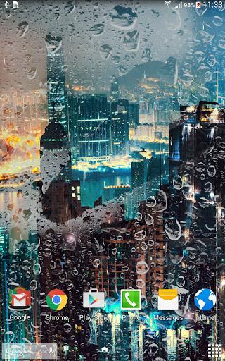 Скачать Ночной город Живые обои / City at Night LWP для Андроид