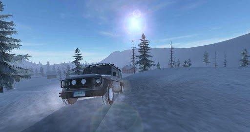 Скачать Off-Road Winter Edition 4×4 для Андроид