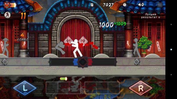 Скачать One Finger Death Punch для Андроид