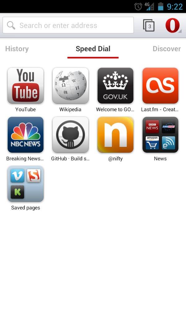 Скачать Opera Mobile для Андроид