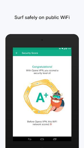 Скачать Opera VPN для Андроид