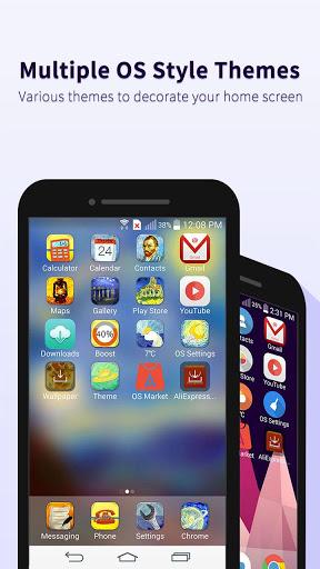Скачать OS10 Launcher для Андроид