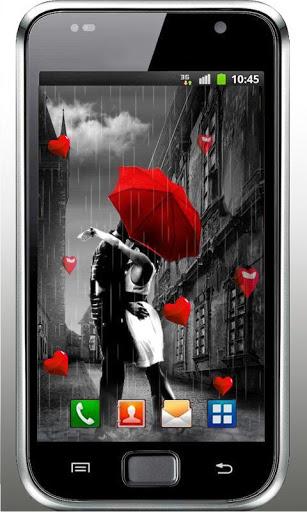 Скачать Осень любовь HD живые обои для Андроид