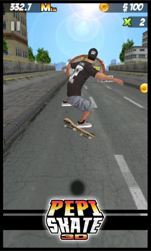 Скачать PEPI Skate 3D для Андроид