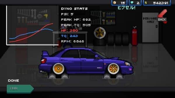 Скачать Pixel Car Racer для Андроид