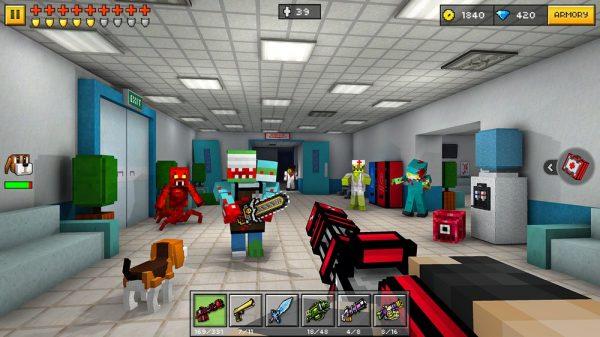 Скачать Pixel Gun 3D для Андроид