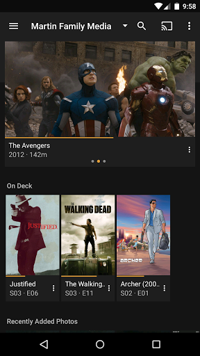 Скачать Plex for Android для Андроид