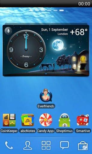 Скачать Погода Часы Виджет на экране для Андроид