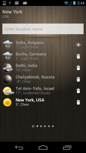 Скачать Погода — Weather для Андроид