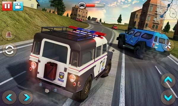 Скачать Police Car Smash 2017 для Андроид