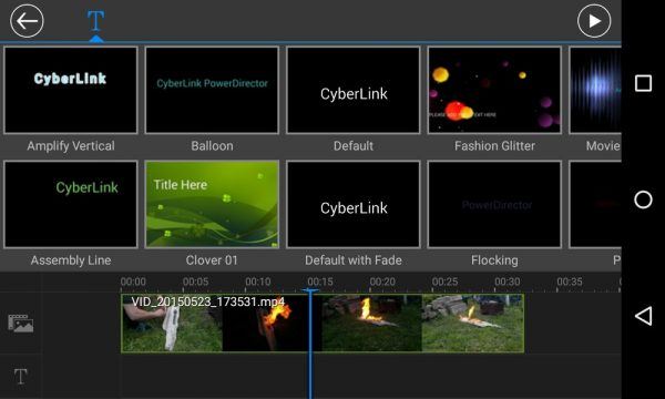 Скачать PowerDirector Video Editor для Андроид