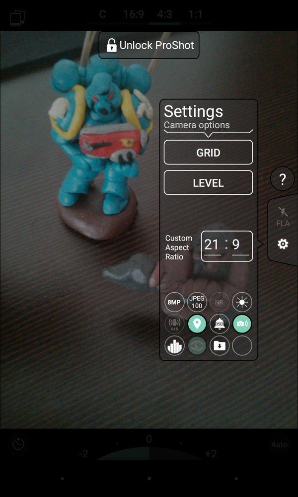 Скачать ProShot для Андроид
