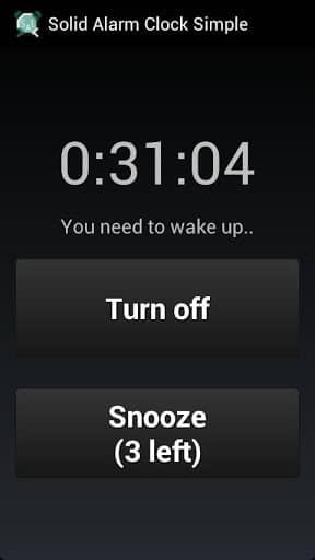 Скачать Простой надёжный будильник для Андроид