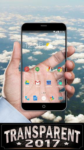 Скачать Прозрачный экран для Андроид