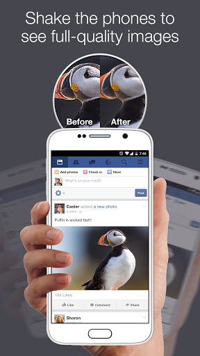 Скачать Puffin for Facebook для Андроид