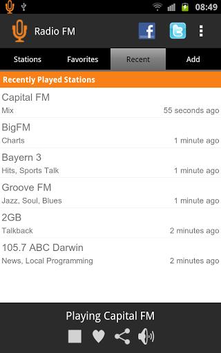 Скачать Радио FM для Андроид