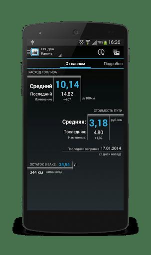 Скачать Расход Топлива — Fuel Manager для Андроид