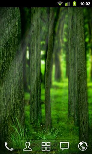 Скачать RealDepth Лес Живые Обои Free / RealDepth Forest Free LWP для Андроид