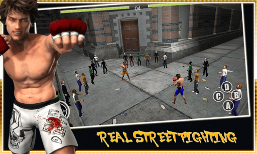 Скачать Real Street Fighting для Андроид