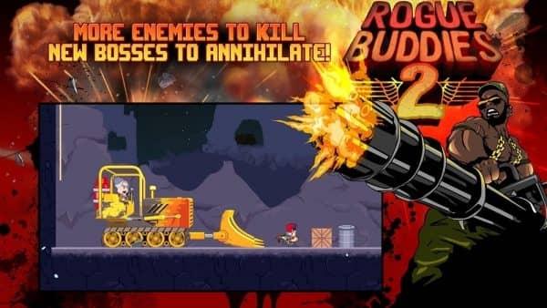Скачать Rogue Buddies 2 для Андроид
