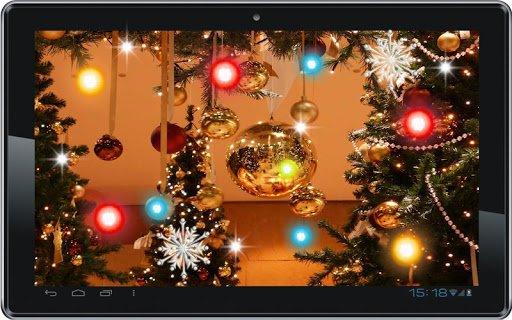Скачать Рождественская елка живые обои для Андроид