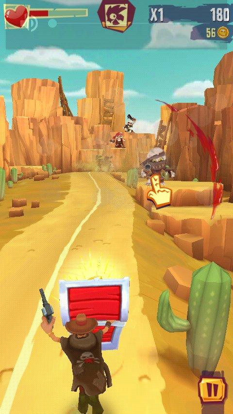 Скачать Run and gun: Banditos для Андроид