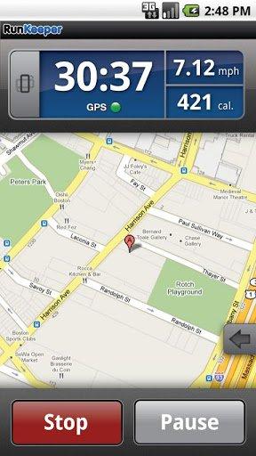 Скачать RunKeeper для Андроид